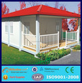 cheap pre-made folding living flat pack solar container house luxury