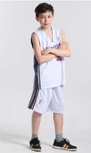 wholesale cheap custom sleeveless white blank basketball jersey and shorts design