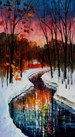 natural scenery painting,natural scene pictures,canvas oil painting of landscape