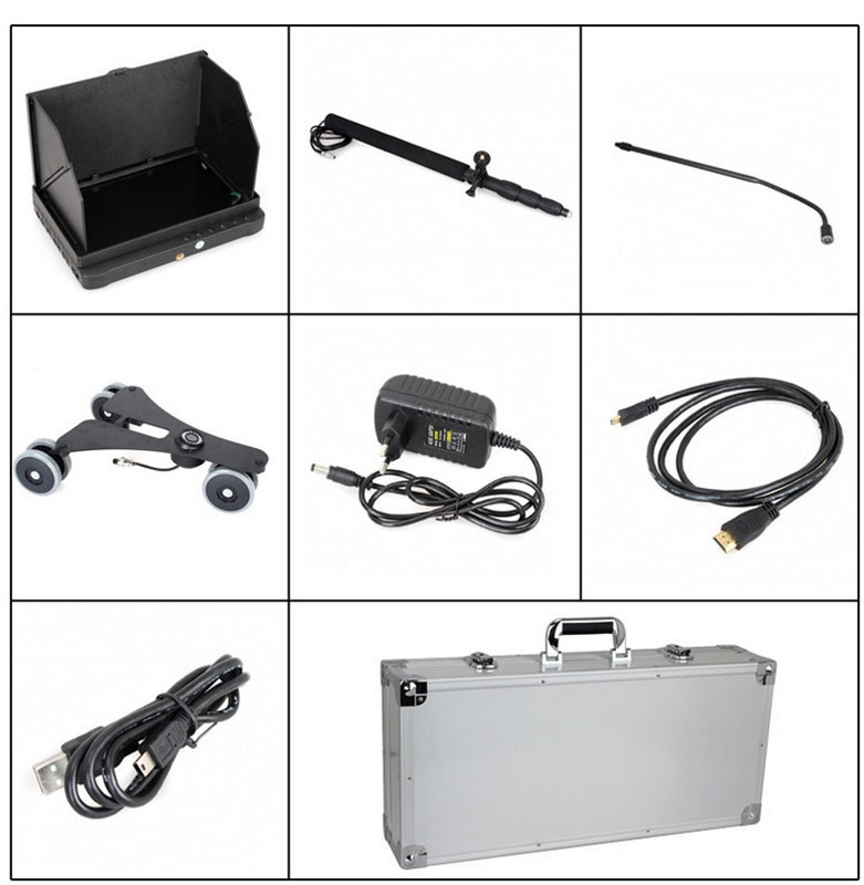 under vehicle inspection camera digital 1080P HD camera DVR with telescopic pole
