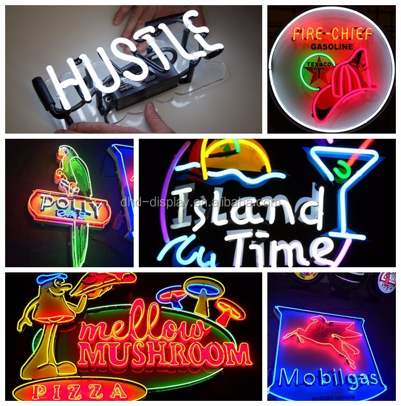Stores/shops promote sinage manufacturer direct supply neon sign