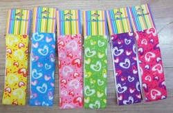 kids printing stretch hair band 01