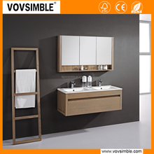 "Formaldehyde free 51"" WALL MOUNTED MODERN BATHROOM VANITY CABINET SET - MIRROR INCLUDED"