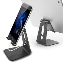 Aluminum Stand Universal Mobile Phone Holder Metal Desk Bracket Holder For iPhone Ipad
