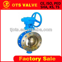 BV-SY-050 wafer end type butterfly valve for water, oil, gas