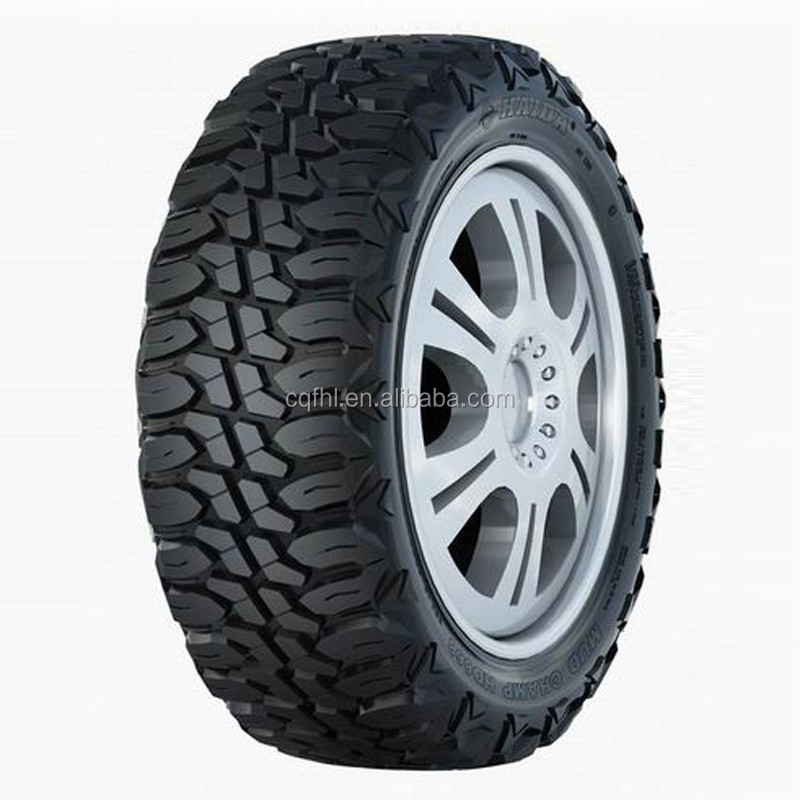 HAIDA High Quality Pneumatic Rubber Tire for Light Trucks 35X12.50R20LT 10PR HD868 121Q