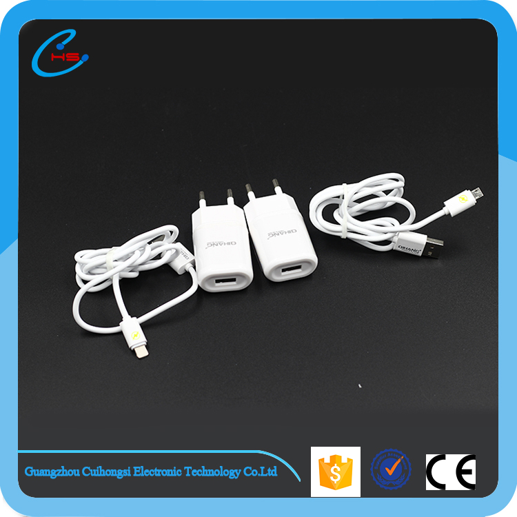 Usb cable factory for data transfering and 2 in 1 charging micro data cable in USB for iphone 6s