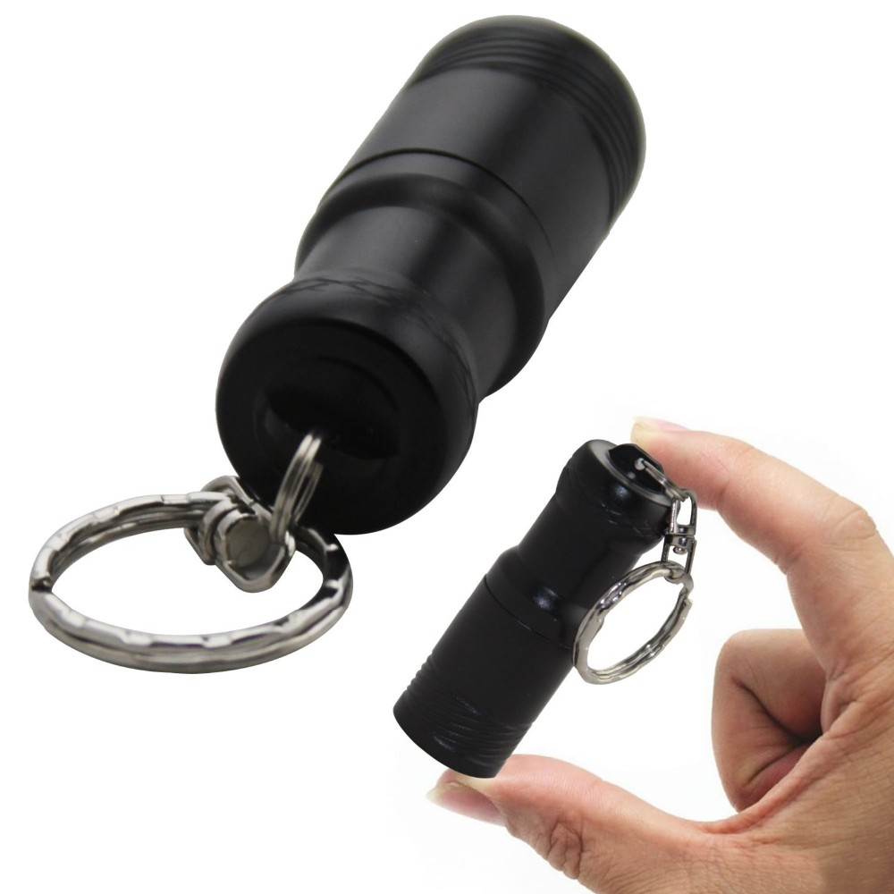 Sidiou Group 900lm XML T6 Mini Rechargeable LED Flashlight Keychain LED Lantern Flash Light Torch Lamp Spotlight