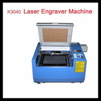 Good product!!50W tube laser engraver machine K 3040 co2 laser cutter with rotary axis,high quality and hot sale