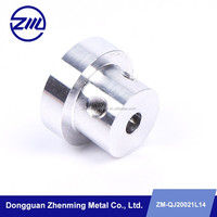 Factory price aluminum drilling spare part , meta part for motorcycle part