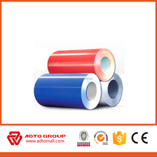 Manufacture hot sale best quality color coated aluminum coil