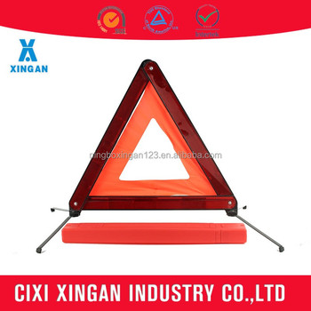 Safety triangle with E-Mark certification