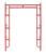 TSX 18968 Open End Arch Door Frame