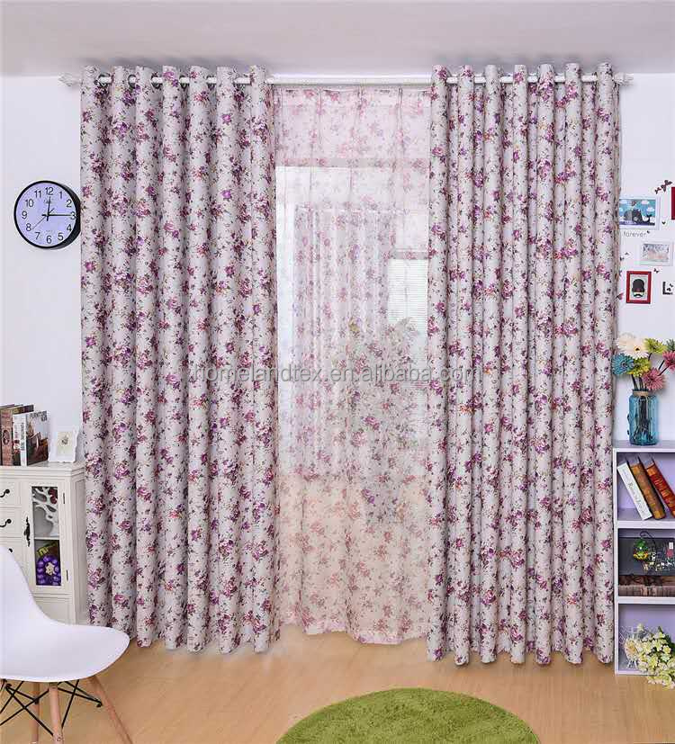 European style curtain design new model