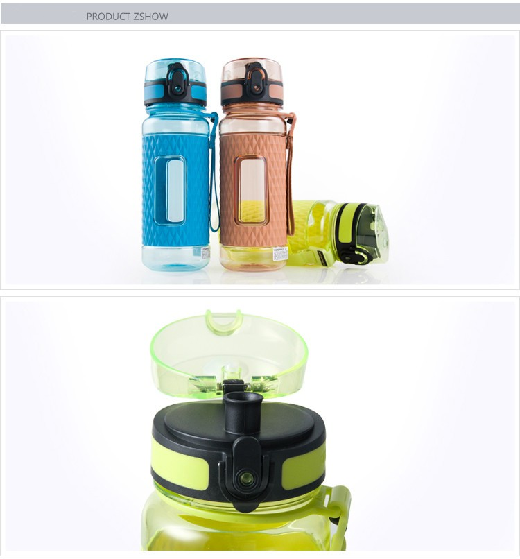 hot selling private label tritan plastic water bottle joyshaker logo