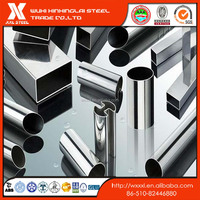 304 316 stainless steel ellipse pipes/ steel tubing in different shapes /special pipe china price