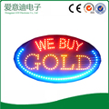 Zhongshan supplier low price wholesale acrylic led sign board led gold shop sign