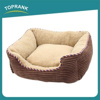 TOPRANK Simple Cheap Colorful Cute Travel Dog Bed Winter Heated Dog Bed Large