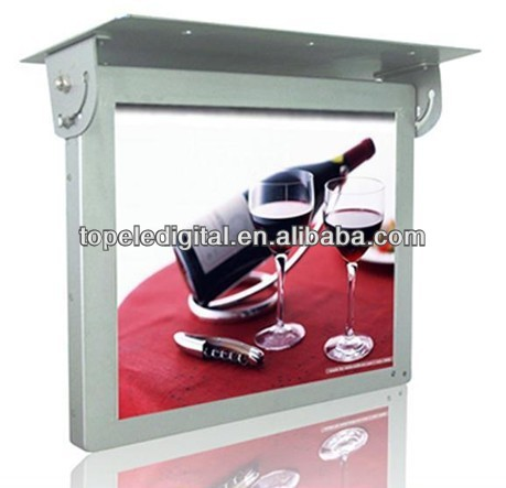 "15"" lcd metro bus lcd video display,HDMI/VGA input monitor for bus"