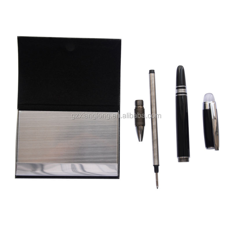 Promotional items ,corporate gifts,pen and business card holder set