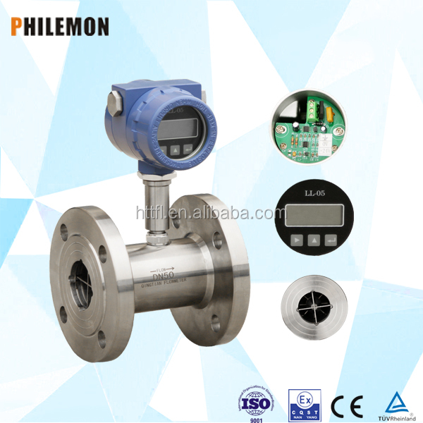 fuel transfer pump 3 phase diesel dispenser Turbine Flow Meter