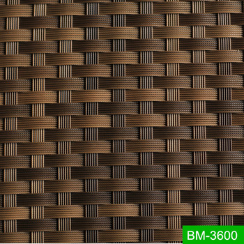 Braids All-weather Erosion-resisting Waterproof Imitated Rattan Fiber BM-3600