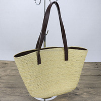 Wholesale Summer Shoulder Style Straw Beach