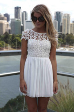 zip back open crochet lace chiffon lace turquoise dress convertible chiffon dress