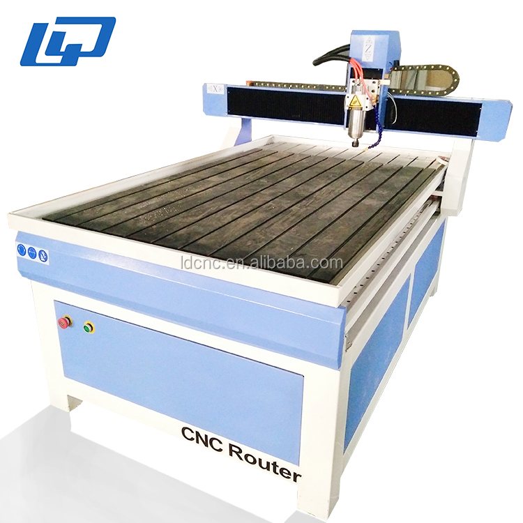 Jinan Lingdaio advertising cnc router 3d cnc engraving machine