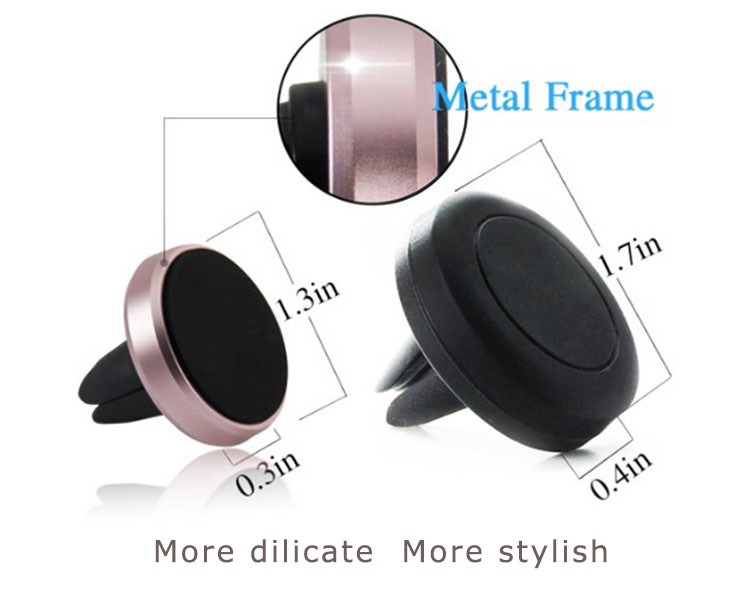 Magnetic air vent car holder Cell phone vent mount from China alibaba