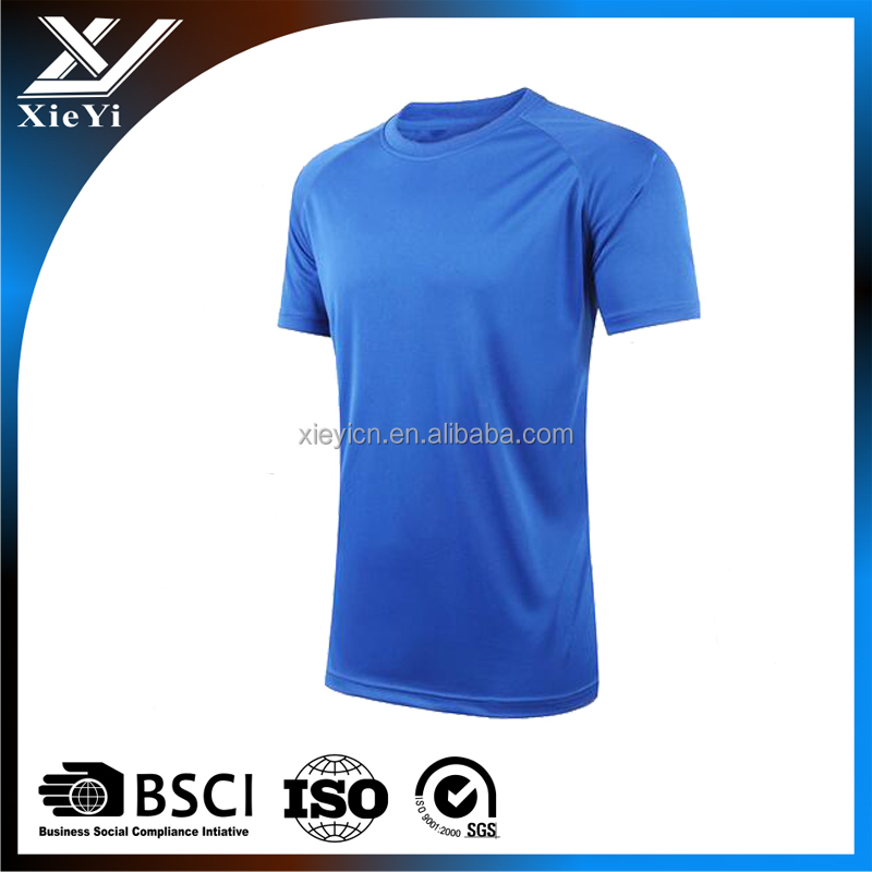 Men 100%cotton embroidery design O neck t shirt , 3D printing blank t shirt .