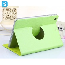 TPU Diamond Pattern PU Leather Rotation Stand Case for iPad Mini 3 ,for ipad cover stand