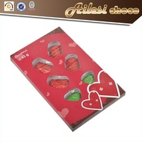 45g chocolate import/chocolate names/heart shape chocolate candy for gift