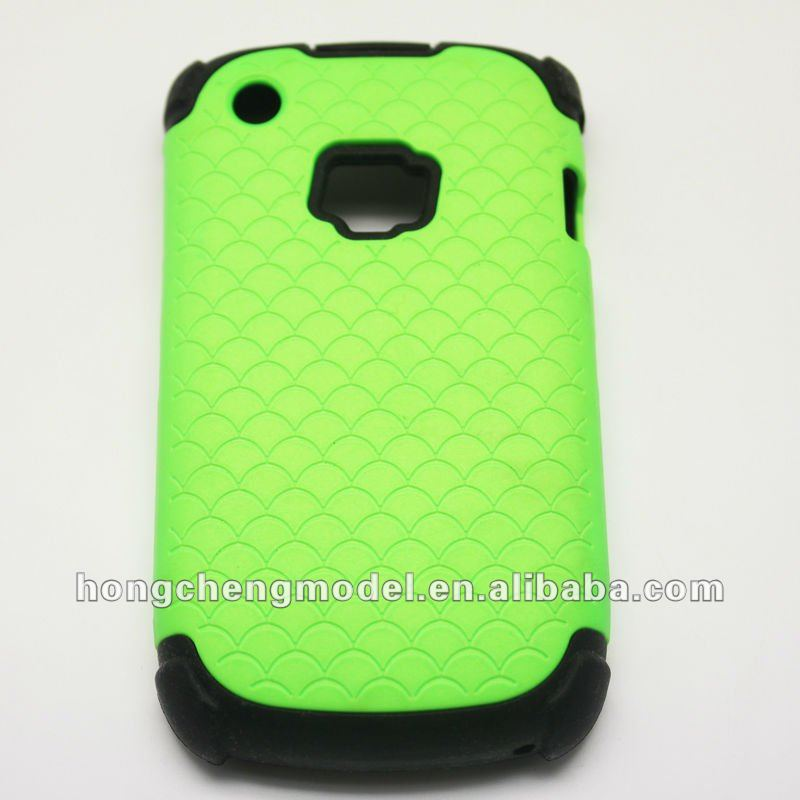 For blackberry curve 8520 pc+silicone combo case