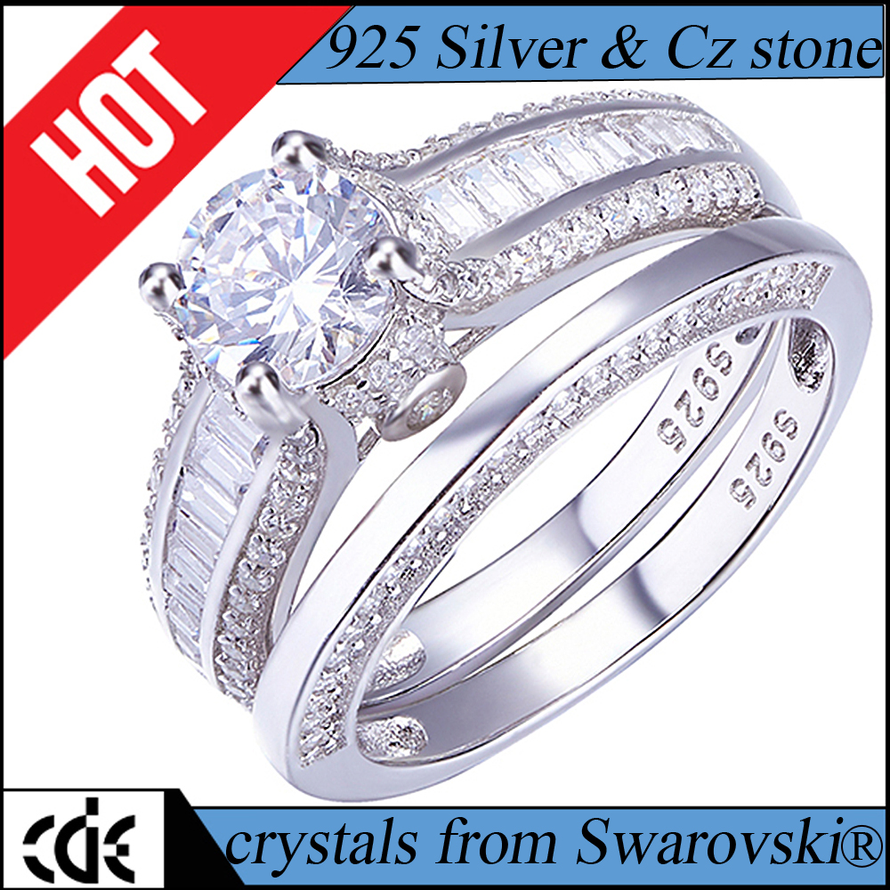 Jewelry Manufacturer Custom Fashion 925 Sterling Silver Ring