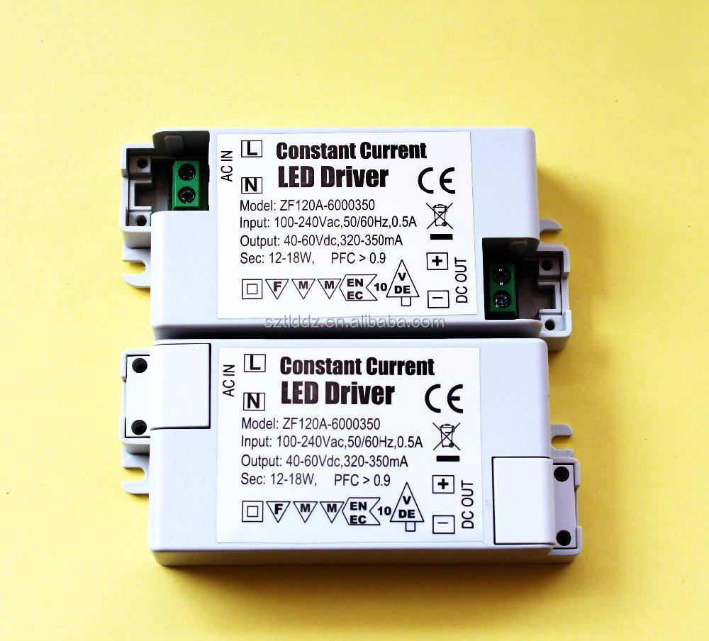Single Output 12-18W Constant Current led driver 40-60V