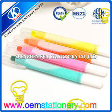 plastic gel ink pen, fluorescent color pen