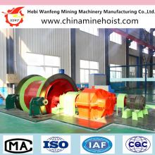 underground mining pneumatic winch for lifting