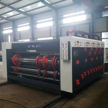 Semi automatic printing slotting die cutting machine with 2500*480mm