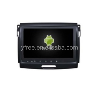 for FORD RANGER 2016 Android car dvd players with GPS navigator auto double din radio navigation 2 audio video system