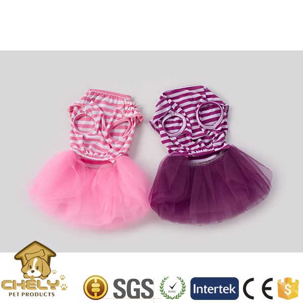 500+ models available chihuahua dog clothes with nice skirt pink or light purple