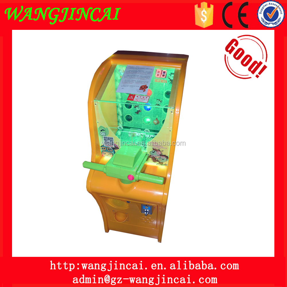 mini coin operated shooting balls simulator lottery game machine gun fight zombies redemption shooting game machine for kids