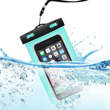 Hot Sale good quality Diving Sports green Waterproof phone case For Iphone7 plus/6s plus/Samsung galaxy s6