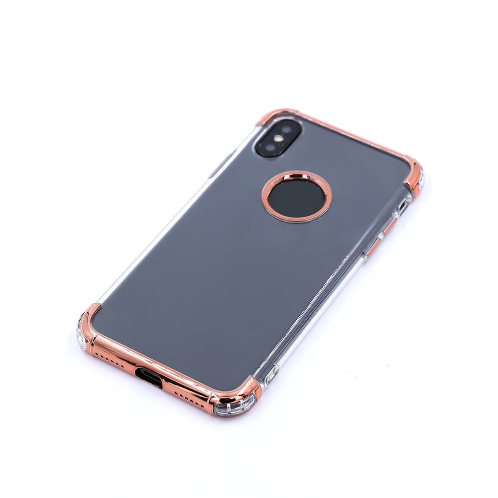 Latest design TPU plating oem shockproof case for cell phone