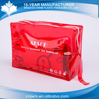 Alibaba china qualified small transparent pvc pouch bag