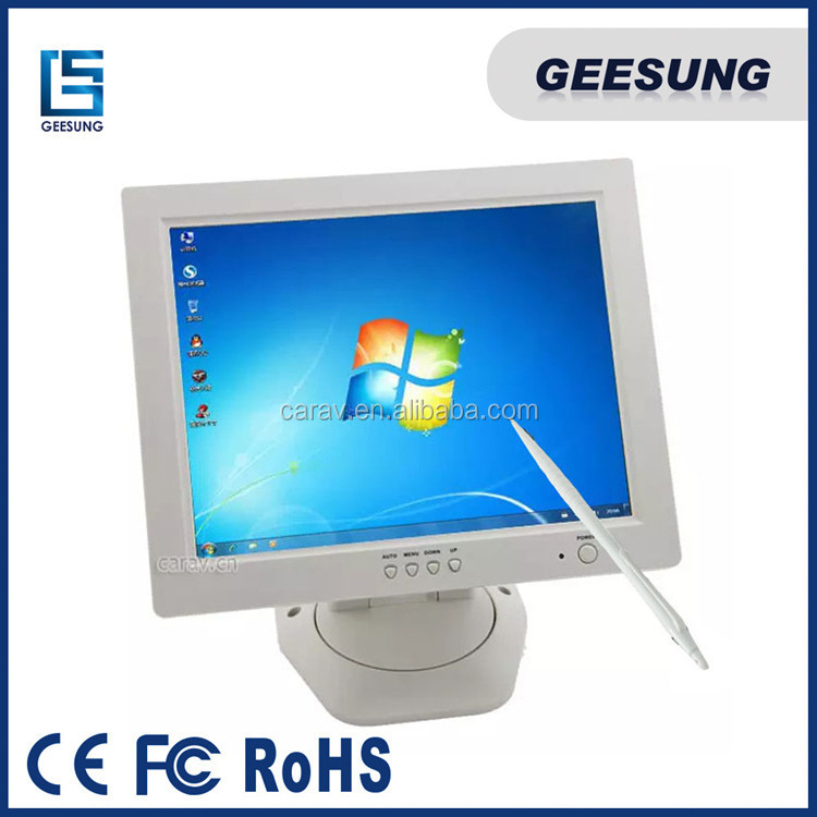 LED Display Monitor Touch Screen for POS Industrial Monitor