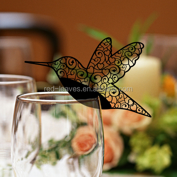 Wedding Supplies seat card small party favorb bird table place card to decoration your weding