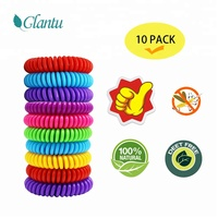 Mosquito Repellent Bracelets, 10 Pack Pest Control Repeller Outdoor &Indoor band