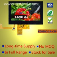 Capacitive touch screen LCD 5 inch TFT LCD 800x480