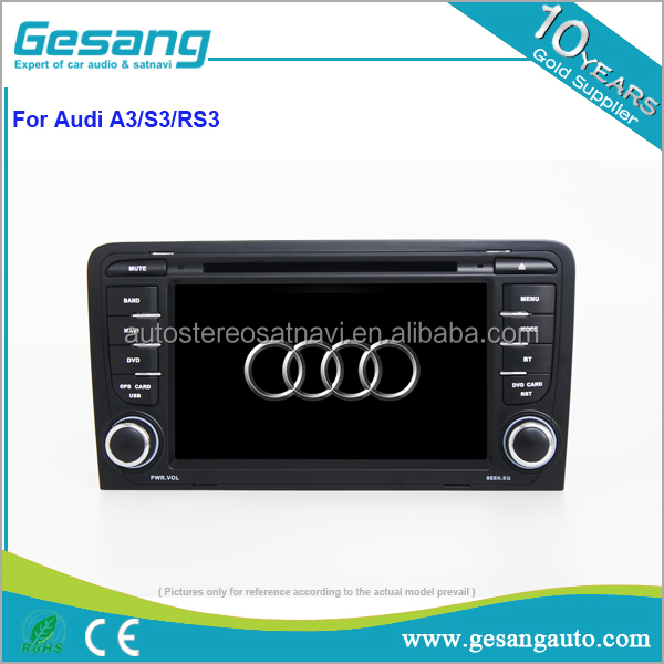 "7"" Car DVD GPS for Audi A3 S3 2003 2004 - 2011 DVD Car Radio Navigation 2 DIN DVD Navigation"